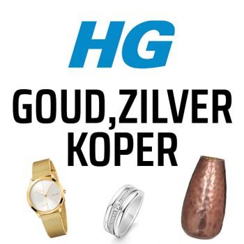 HG GOUD, ZILVER, KOPER
